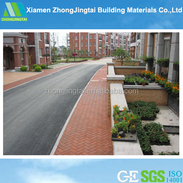 ZJT China supplier of good abrasion resistance of colorful landscaping clay paving brick