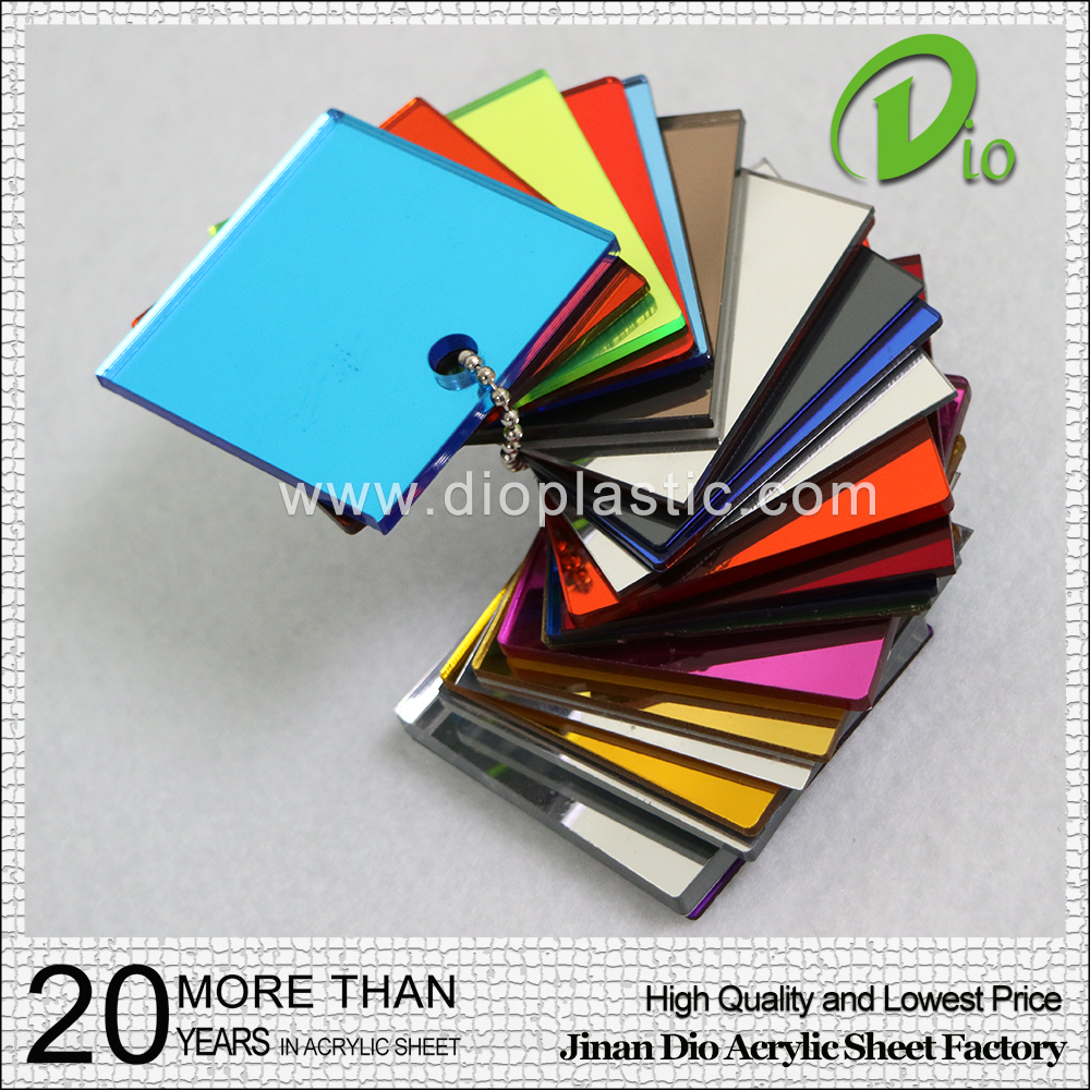 mirror sheet acrylic mma material from china factory