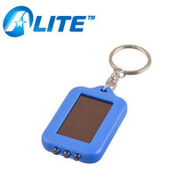 CE Certificate PVC Plastic Promotional Brand Name Solar Keychain