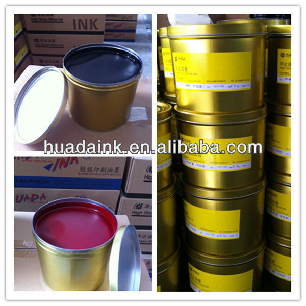 High quality, high glossy, wide application HD-G sheedfed offset tintas
