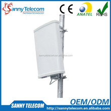 700-2700MHz DAS 10dBi 65 degrees XPOL Dual Polarized 2x2 MIMO Sector Panel Antenna, 4G LTE Antenna