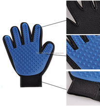 Left&Right handed Pet Grooming Gloves Mitts,Pet Deshedding Tool Cat Brushing Gloves Hair Remover Pet Massage Brush For Dog Puppy