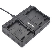 DuraPro LP-E17 USB Dual Channel Charger for Canon LP-E17 and Canon EOS M3 750D 760D Rebel T6i T6s 8000D Kiss X8i Digital Cameras