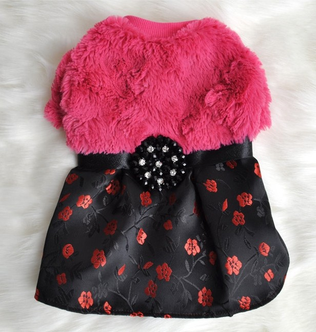 Korea fashionable elegant traditional pet clothes dress apparel clothing