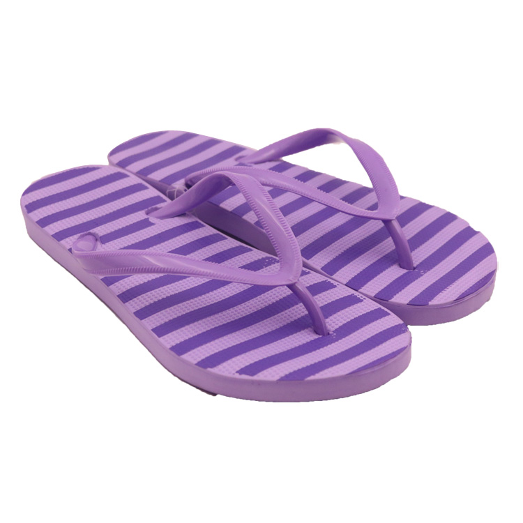 Hot Girl Anti-slip Outsole EVA With PVC Straps Flip Flops SU-2