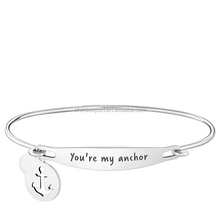 Characteristic Fashion Jewelry Stainless Steel Bangle Designed For Girls