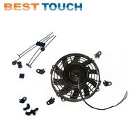Ranger 400,500,800 6x6,900,XP 800 2010 2011 2012 2013 electric 9'' inch electric engine cooling fan for POLARIS