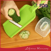Best professional as seen on tv hand held ceramic blade kitchen food potato vegetable mandoline slicer with box
