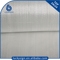 High quality LUCKYSIGN mesh fabric,aluminum coated fiberglass mesh fabric