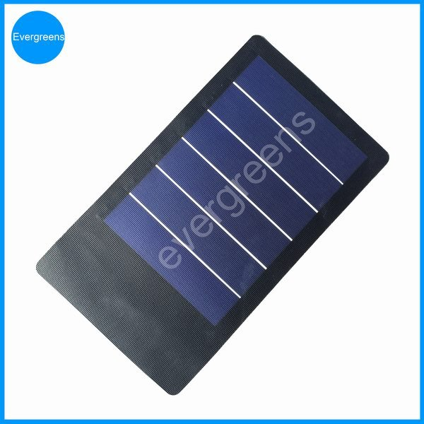 Folding and flexible amorphous solar charger , 1 watt solar panel