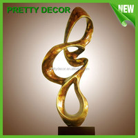Small Abstract Art Statue and Sculpture /Melody Home Decorative Craft
