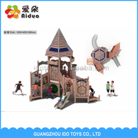Factory Price Educational Toys Wooden Outdoor Playground Equipment For Kids