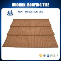 NUORAN Low price roof for poultry house stone coated roofing sheet