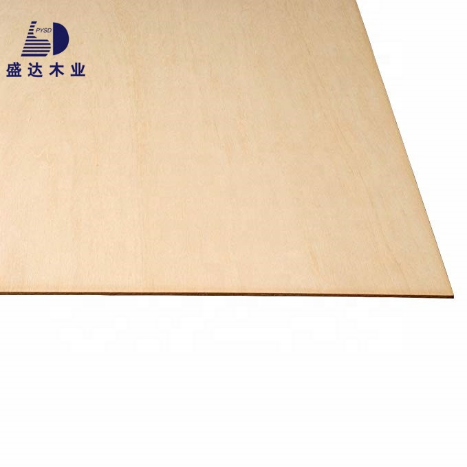 3MM <strong>1</strong>/8&quot; <strong>x</strong> 12&quot; <strong>x</strong> 24&quot; Birch Plywood B/BB Grade Perfect for Arts and Crafts School Projects and DIY Project
