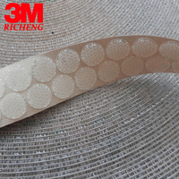 3M brand SJ4570 Hot sale Self Adhesive double sided tape High sticky Clear 20 mm circle tape dual lock round tape we can die cut