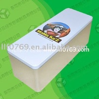 Factory sells printed tin box for cookies,cake box