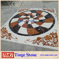 Chinese made marble flooring border designs for Sale
