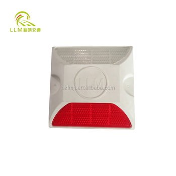 Hot sell High Brightness Aluminous Single--Reflector LED solar road stud