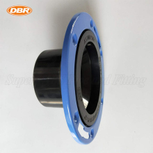 ABS DWV Plumbing Supply 4*3Hub Inch Adjustable Plastic Ring Closet Flange In Jiangyin