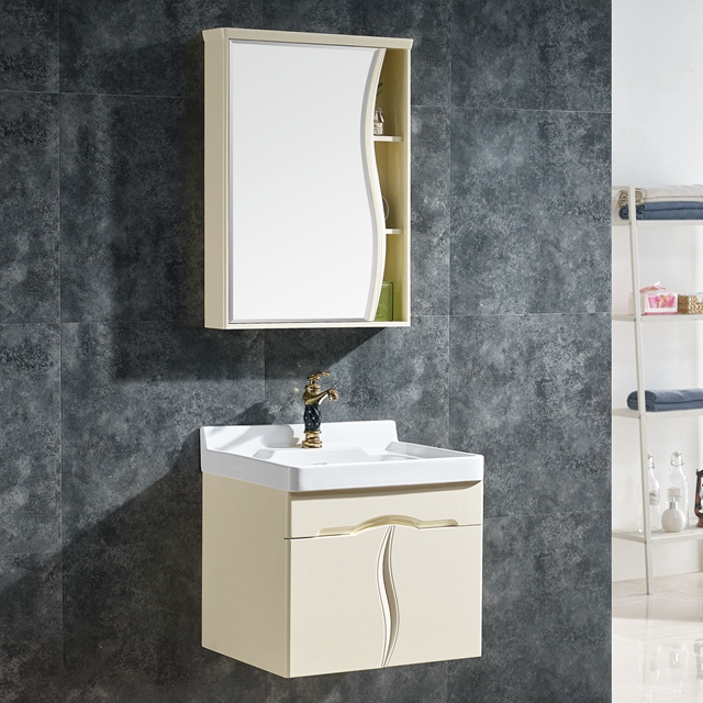 new fashionable stylish free standing mirrored glass door bathroom vanity for chile
