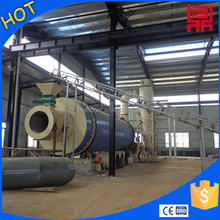 Provide and install rotating-drum drying equipment for wood shavings/sawdust