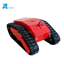 electronic rubber wheel track robot chassis made in China