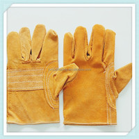 ADTO cheap safety leather labor protection gloves