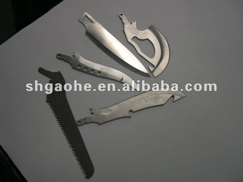 Stainless Steel Bar Blade / round blade / plastic cutting blade