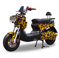 Automobiles Motorcycles 1500W Adult Two Seats Inset GPS Motorbike 72V Pedal Motorcycle