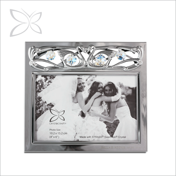Finest Magnificent Chrome Plated Metal Photo Picture Frame