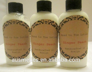 Ginger Peach Fresh Hand & Foot Lotion