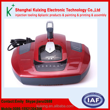 UV removal of mites Vacuum cleaners plastic shell and assembly injection processing