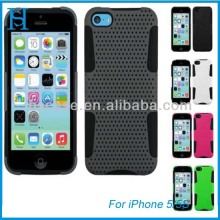 New colorfuL mesh soft/HARD CASE COVER WITH STAND FOR iphone 5/5s