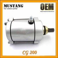 Zongshen Starting Motor CG200 Motorcycle Starter Motor for Zongshen Engine