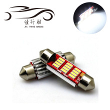 Super Bright Led Car Light Festoon 31mm 36mm 39mm 41mm Interior Light C5W 4014 12smd Bulbs Reading Lamp DC12V 24V