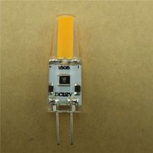 Dimmable Led G4 12V AC/DC1W High Quality LED G4 COB Lamp Bulb Lamps Replace Halogen LED Light