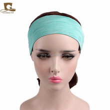 Newer cotton Stretchy Yoga Sport <strong>Headbands</strong> lady make up hair bandsTD-145