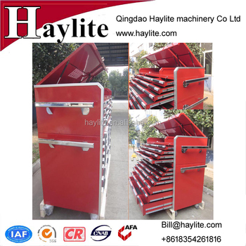 wholesale garage steel movable workshop drawer tool cabinet