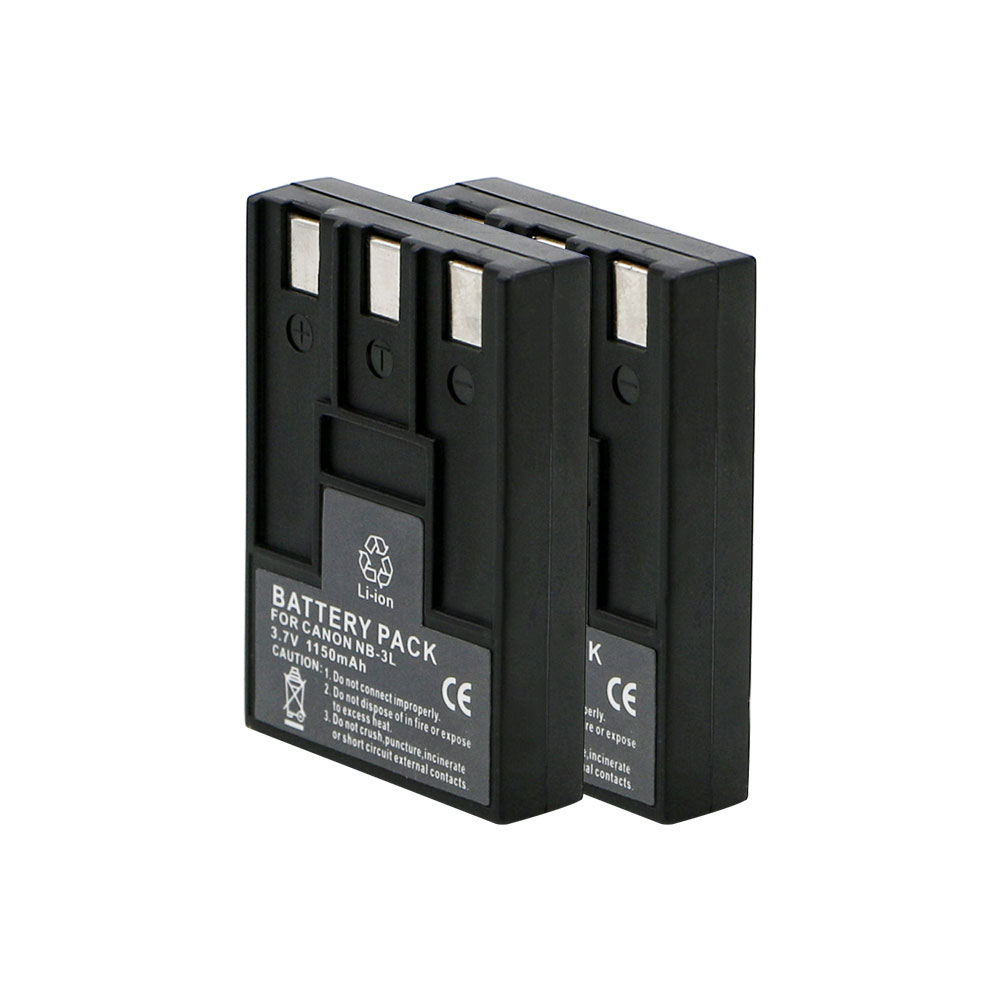 3.7v battery pack li-ion NB-3L for Canon PowerShot SD10 SD100 SD500 SD550 digital camera