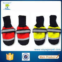 Lovoyager Multifunctional pet dog rain boots booties for wholesales waterproof dog shoes with rubber sole
