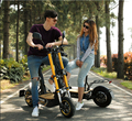 2000W Electric brushless scooter with folding design e-scooter , 48v electric scooter