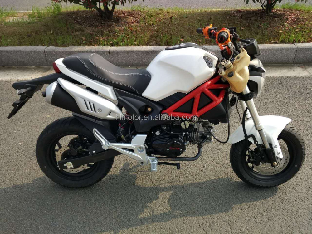 2016 MSX 125 125CC MINI MOTORCYCLE FROTN DISC BRAKE SMALL MONKEY strong chaisi CG ENGINE dirt bike moto