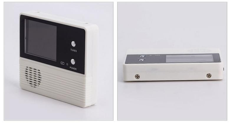 Wireless door eye peeping hole camera with 2.4 inch lcd screen
