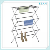 China OEM wholesale wall mounted fold down drying rack for cloth