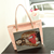 2016 new pink Transparent bags summer beach bag jelly bag shoulder bags