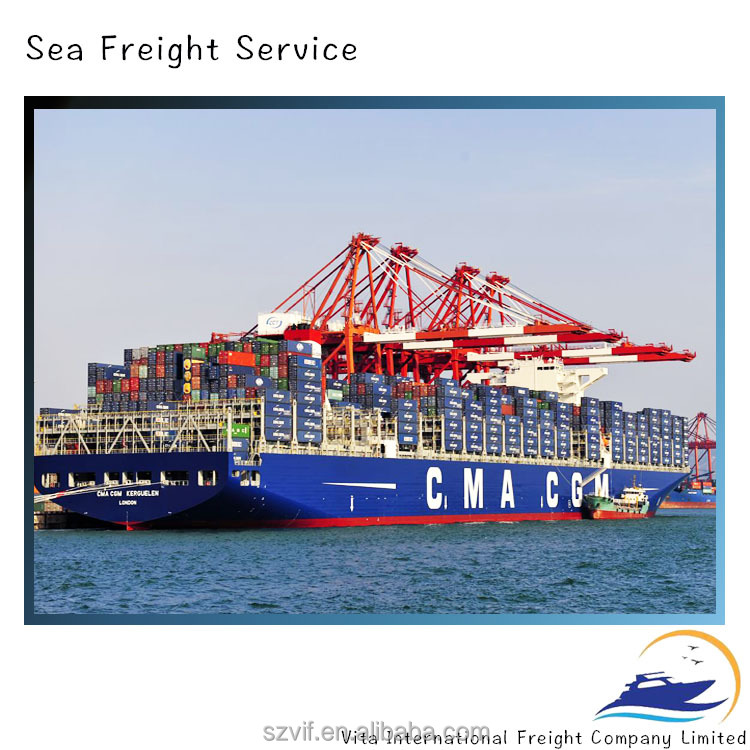 Shenzhen shipping container ocean freight to Long beach,USA,Canada