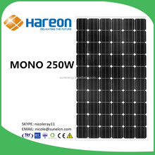250W mono hareon solar modules stock in JINHUA