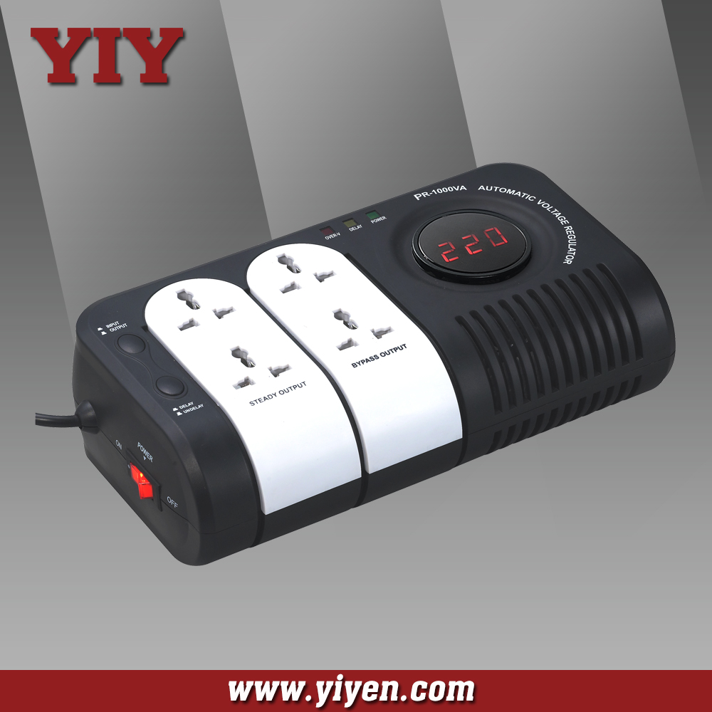 PR Series converter 12v to 220v stabilizer 4 pin socket 500VA 1000VA 1500VA 2000VA 3600VA