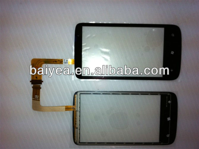 mobile phone for HTC T8698 Mozart digitizer touch screen glass front-panel lens replacement
