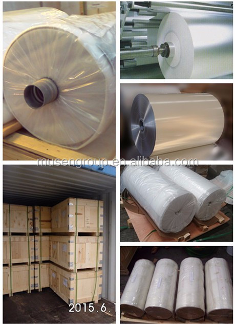 8006 H24 lubricated aluminium foil jumbo roll for food container/food pans
